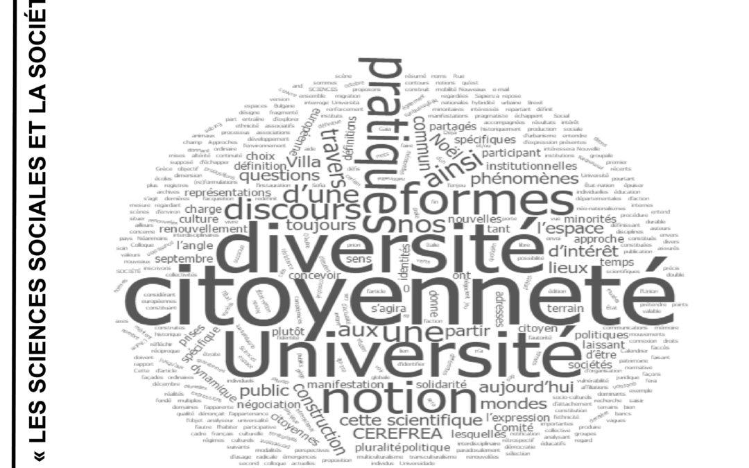 """Colocviul internațional """"Nouveaux lieux, discours et pratiques de la diversité et de la citoyenneté. Approches interdisciplinaires, mises en perspectives européennes"""""""