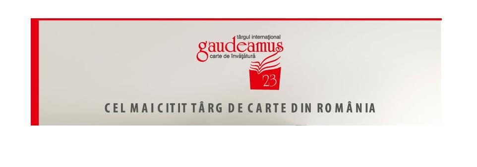 Oportunitate de practică la Târgul Internațional Gaudeamus
