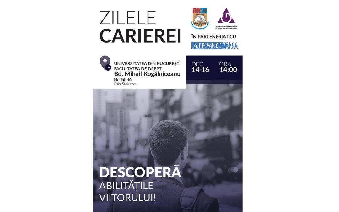 Zilele Carierei la Universitatea din București