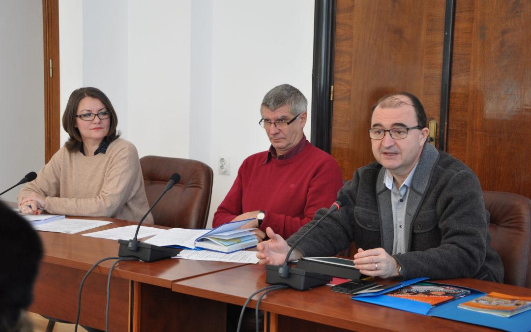 Reuniune de lucru cu factorii responsabili de relații internaționale din facultăți în vederea stabilirii liniilor directoare pentru elaborarea strategiei de internaționalizare a Universității din București
