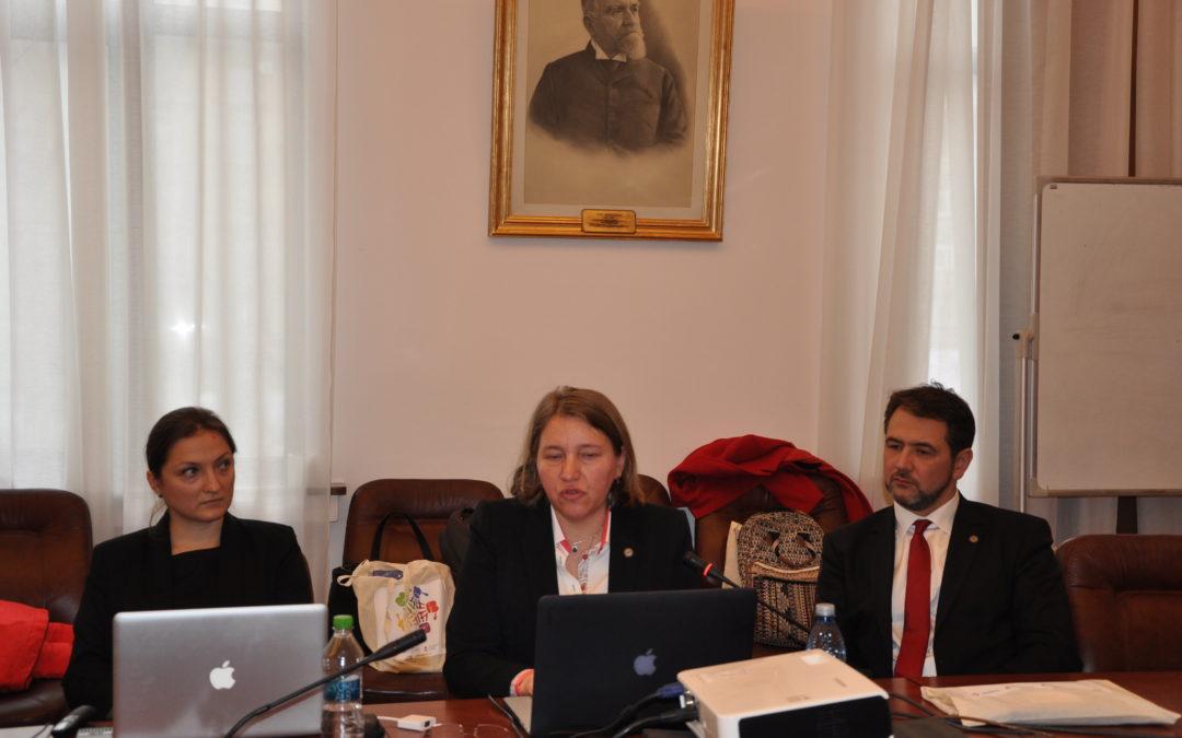 """Conferința de închidere a proiectului ,,CLIMAT: Managementul conflictelor în școală"""" la Universitatea din București"""