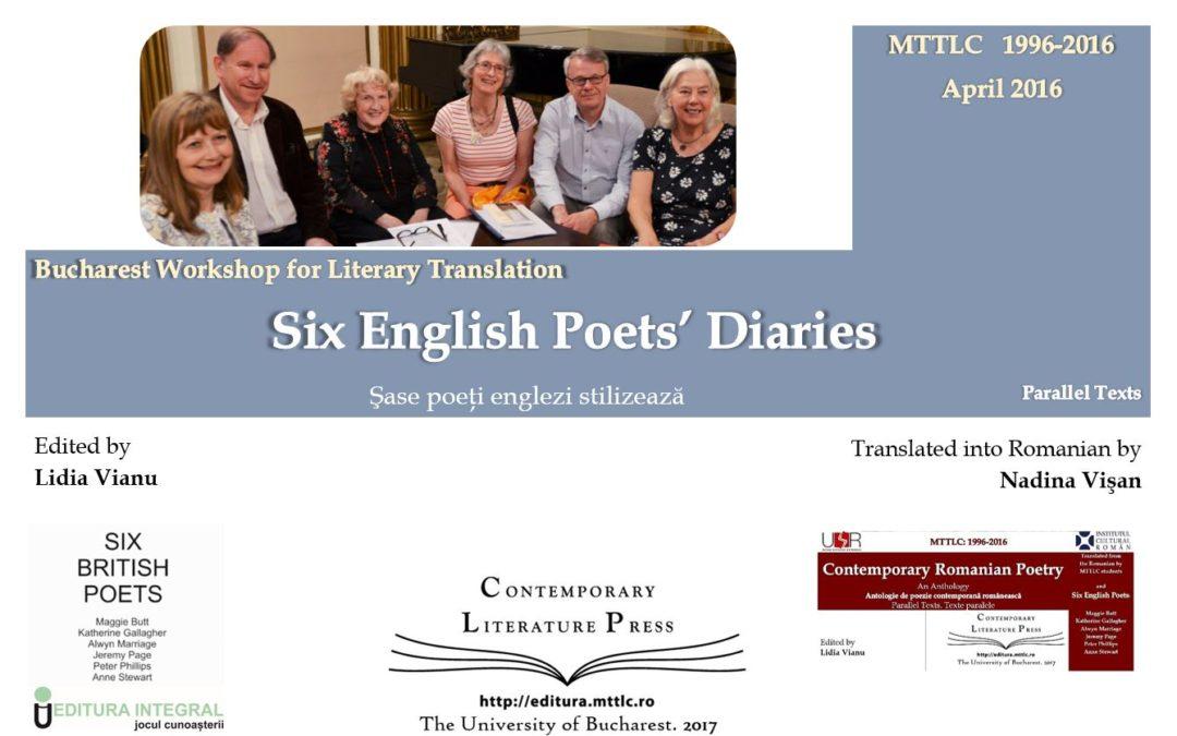 """Lansarea volumului ,, Șase poeți englezi stilizează"""" la Contemporary Literature Press"""