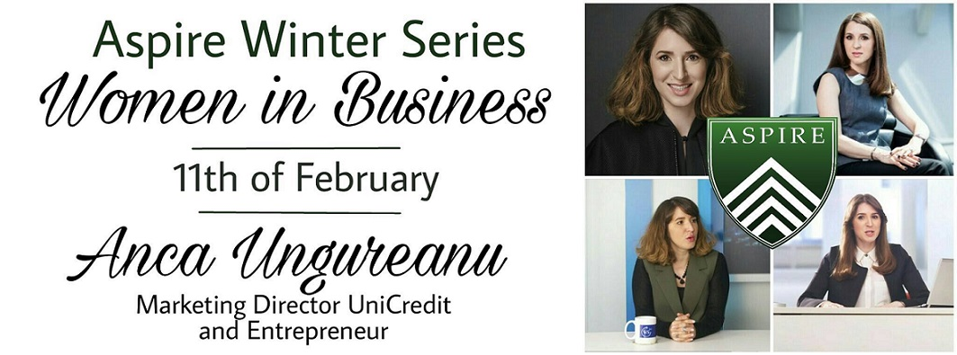"""Women in Business"" – a III-a ediție Aspire Winter Series"
