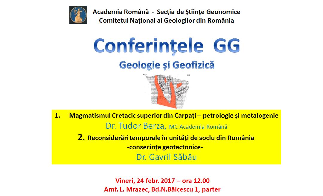 Conferințele de Geologie și Geofizică