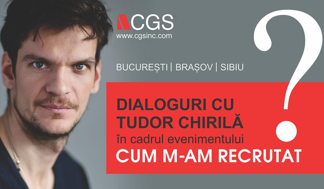 Dialoguri cu Tudor Chirilă la Universitatea din București
