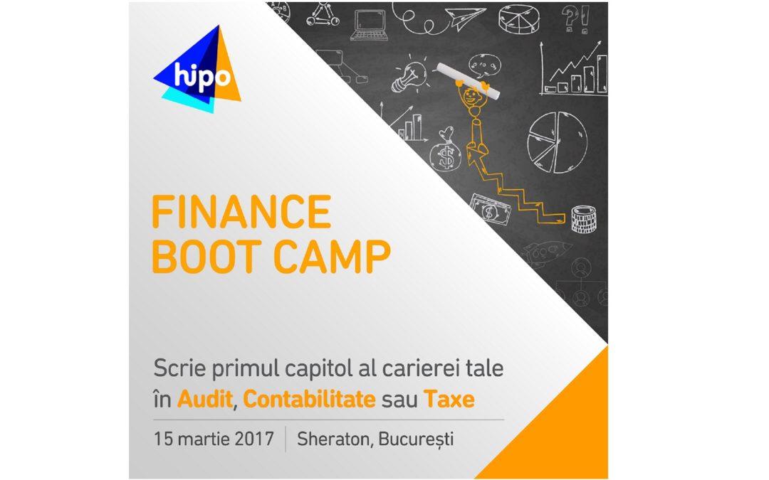 Finance Boot Camp – un eveniment de carieră pentru tinerii pasionați de Audit, Contabilitate sau Taxe