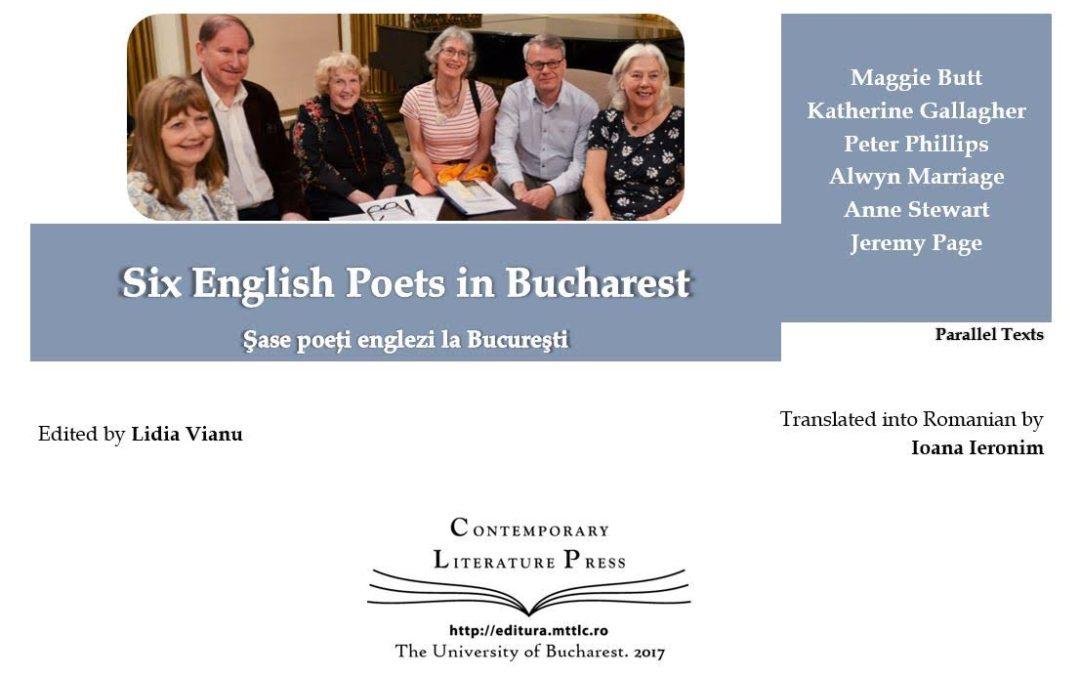 """Lansarea volumului ,,Șase poeți englezi la București"""" la Contemporary Literature Press"""