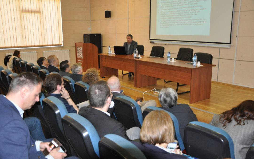 """Conferinţa """"Perspective actuale asupra dreptăţii sociale. Concepte, teorii şi practici contemporane"""" la Universitatea din București"""