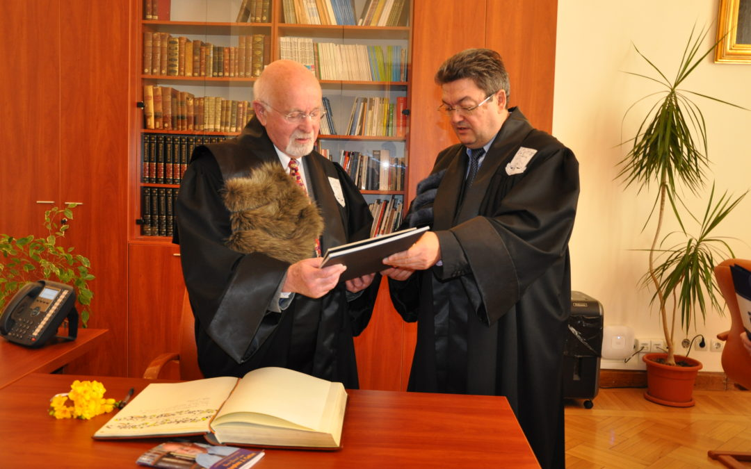 Profesorul Stephen J. Cutler, Doctor Honoris Causa al Universității din București