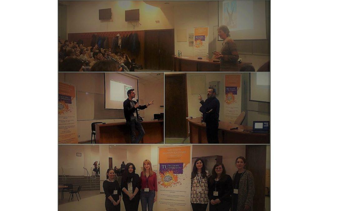 Ediţia a treia a Săptămânii de Conştientizare a Creierului (SCC) la Facultatea de Psihologie și Științele Educației
