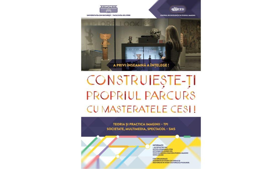 Masteratele Centrului de Excelență în Studiul Imaginii se prezintă publicului
