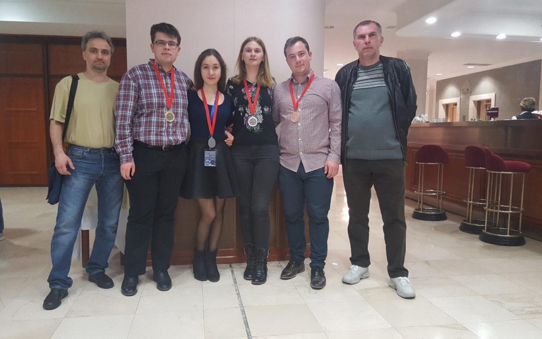 Studenții de la Universitatea din București premiați cu medalii de aur, argint și bronz la SEEMOUS 2017