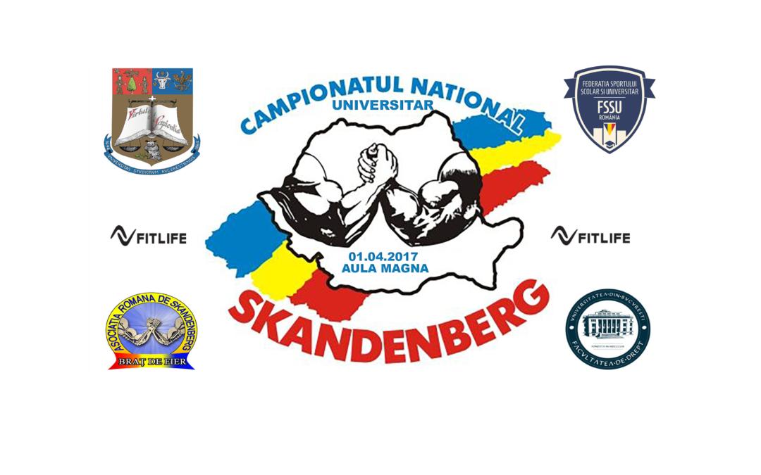 A doua ediție a Campionatului Universitar de Skandenberg organizat de Centrul de Arte Marțiale și Studii Asociate al Universității din București