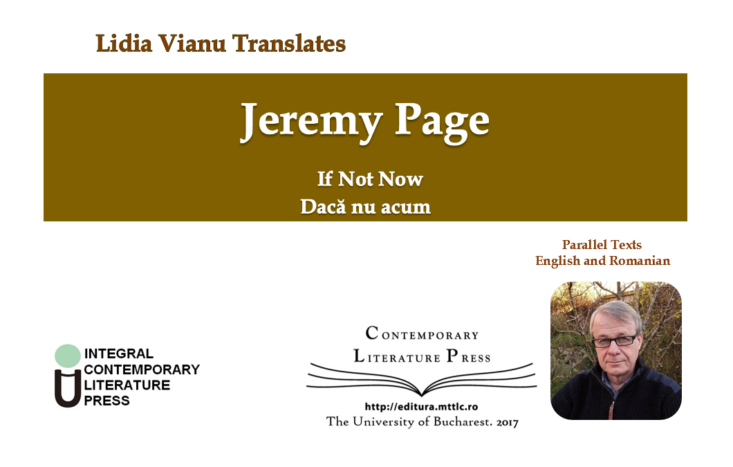 "Lidia Vianu Translates ""If Not Now. Dacă nu acum"" publicat la Contemporary Literature Press"