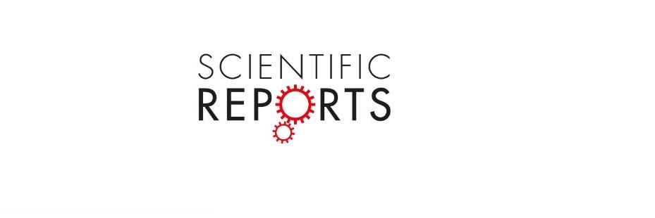 Articol revoluționar publicat în jurnalul Scientific Reports editat de Nature
