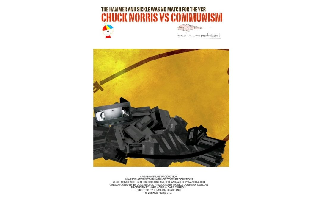 """Vizionarea filmului """"Chuck Norris vs. Communism"""" la Facultatea de Științe Politice a Universității din București"""