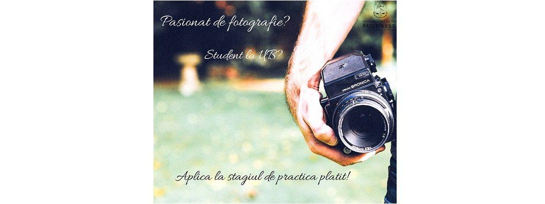 Stagiu de practică foto-video pentru studenții Universității din București