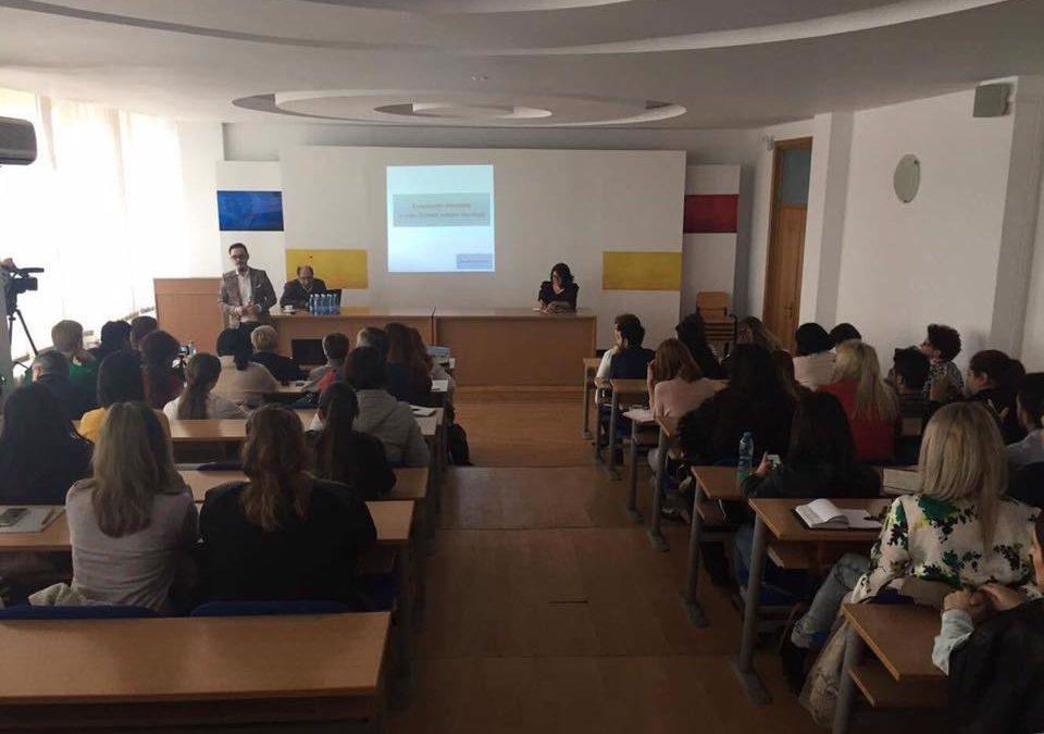 Atelier doctoral II organizat la Constanța de Şcoala Doctorală în Ştiinţele Comunicării a Universității din București