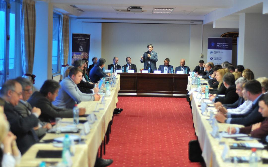 """Fermitate, unitate și intransigență a Consorțiului """"Universitaria"""" pentru asigurarea competitivității mediului academic românesc"""