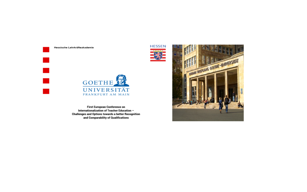 "Lect. univ. dr. Elena Marin a reprezentat Universitatea din București la conferința ""First European Conference on Internationalization of Teacher Education – Challenges and Options towards a better Recognition and Comparability of Qualifications"""