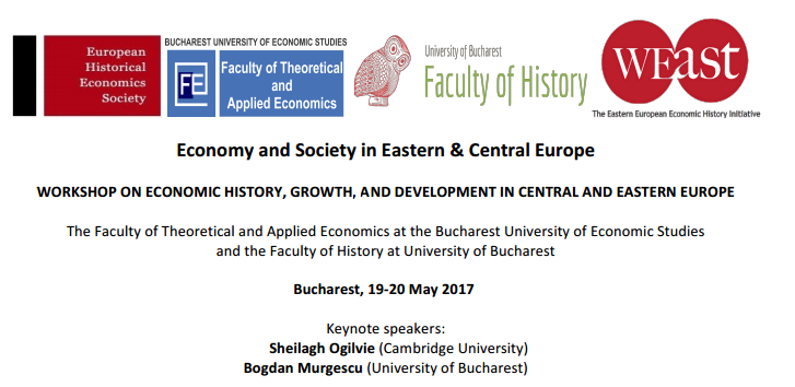 "Workshop-ul internațional ""Economic History, Growth and Development"", organizat de Facultatea de Istorie"