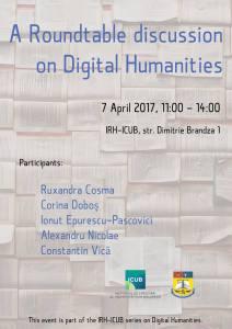 """Masă rotundă cu tema """"Digital Humanities"""" la Institutul de Cercetare al Universității din București"""
