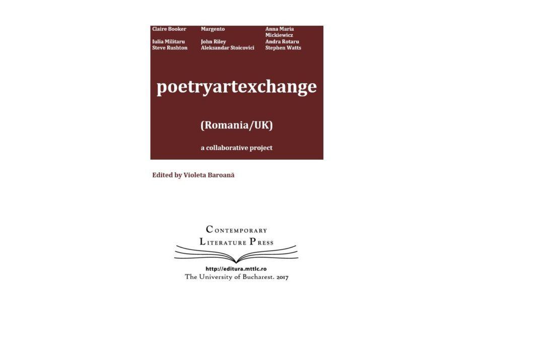 "Lansarea volumului ""poetryartexchange (Romania/UK)"" la Contemporary Literature Press"