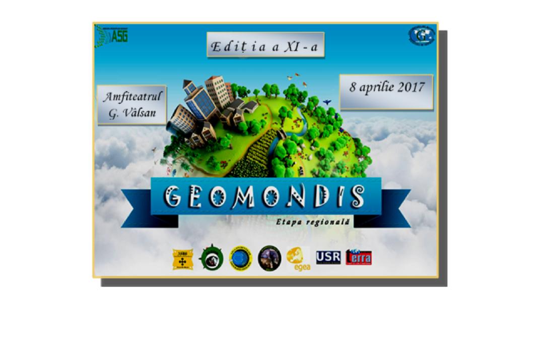 Facultatea de Geografie a organizat Concursul Geomondis