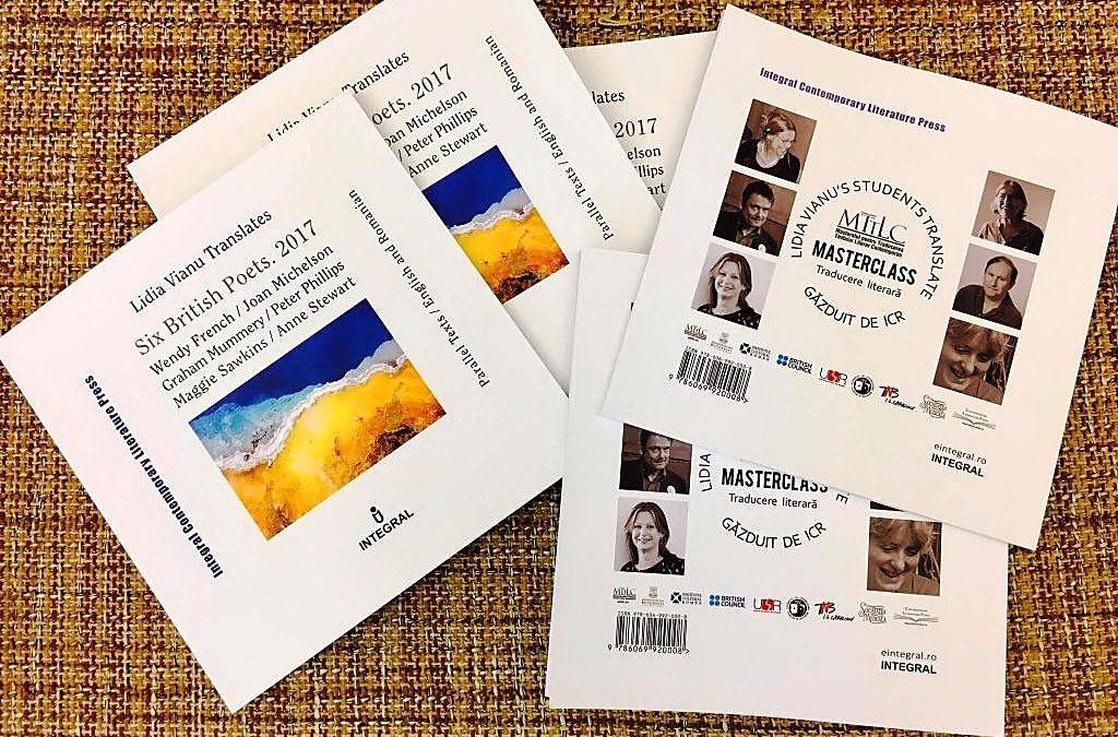 """Masterclass de Traducere Literară MTTLC """"Lidia Vianu's Students Translate"""" la Institutul Cultural Român"""