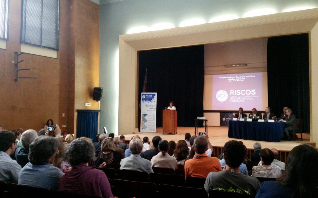 Geografi ai Universității din București au participat la al IV-lea Congres Internațional al Riscurilor la Universitatea Coimbra din Portugalia