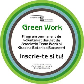 """Asociația Team Work a dat startul înscrierilor pentru voluntari la Grădina Botanică """"Dimitrie Brândză"""" a Universității din București"""