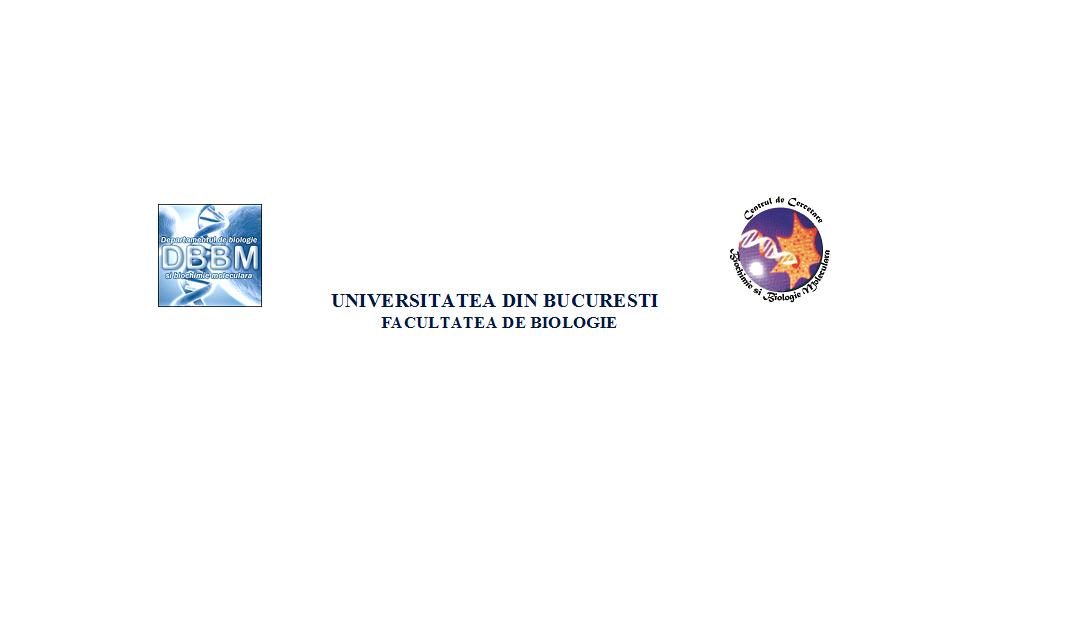 Înscrieri pentru programul postuniversitar de formare și dezvoltare profesională continuă – Biochimie și Biologie Moleculară
