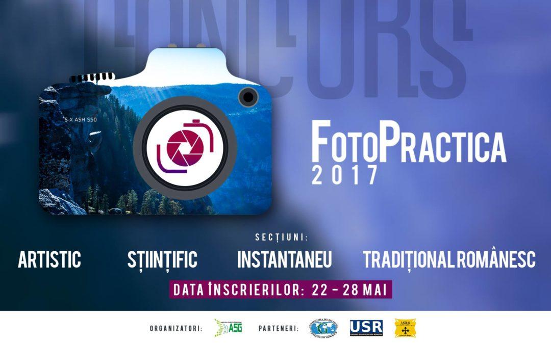 """Concursul de fotografie """"Fotopractica"""" organizat de Asociația Studenților Geografi"""