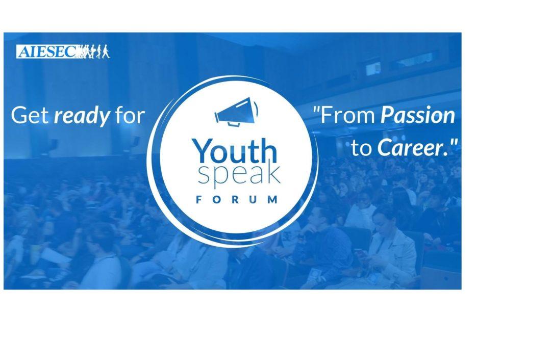 YouthSpeak Forum, organizat de AIESEC la Universitatea din București