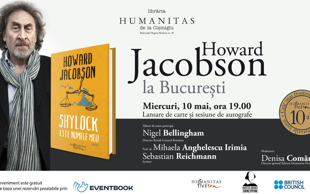 Howard Jacobson, unul din cei mai apreciaţi scriitori britanici, în dialog cu publicul român