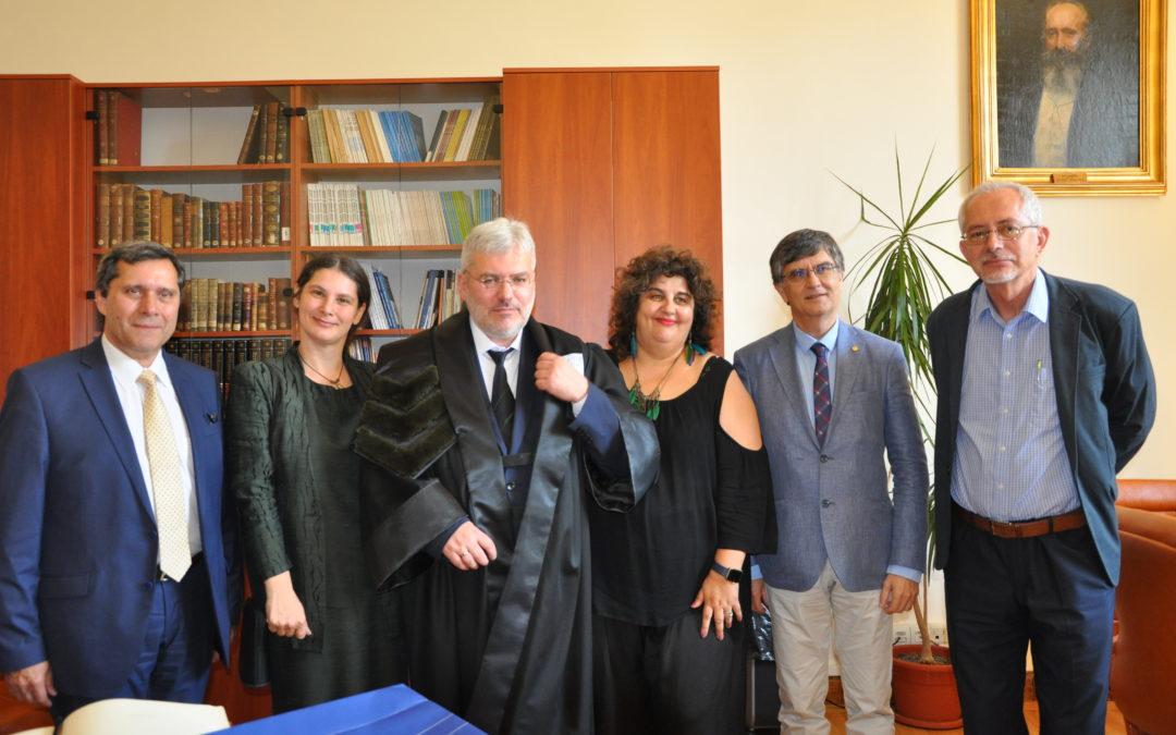 Scriitorul Evgheni Vodolazkin a primit distincția de Doctor Honoris Causa al Universității din București
