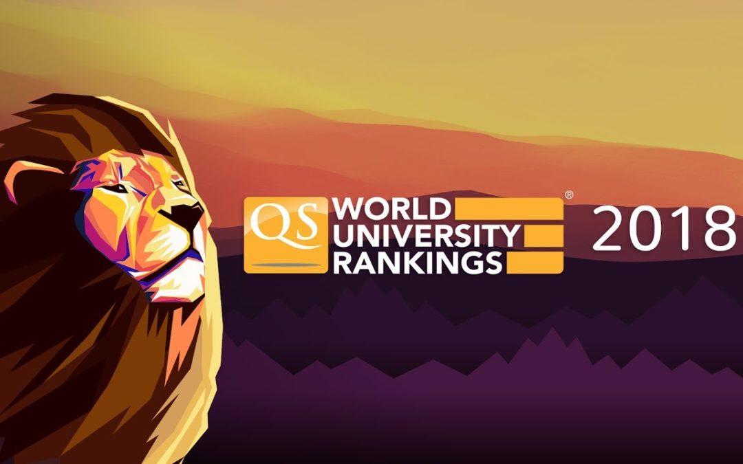 Universitatea din București este prima la nivel național în clasamentul QS World University Rankings 2018