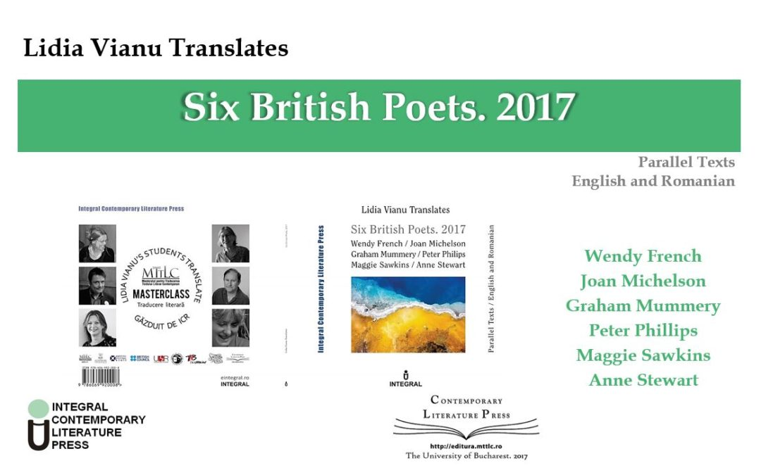 "Lansarea volumului ""Lidia Vianu Translates. Six British Poets. 2017"" la Contemporary Literature Press"