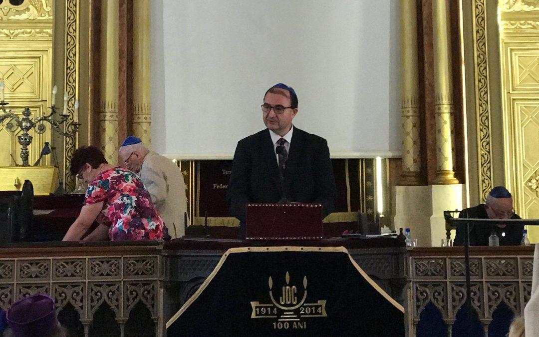 Medalia Dr. Wilhelm Filderman, conferită rectorului Universității din București, Mircea Dumitru
