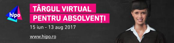 Oportunități pentru studenții și absolvenții Universității din București la Târgul Virtual Hipo.ro 2017