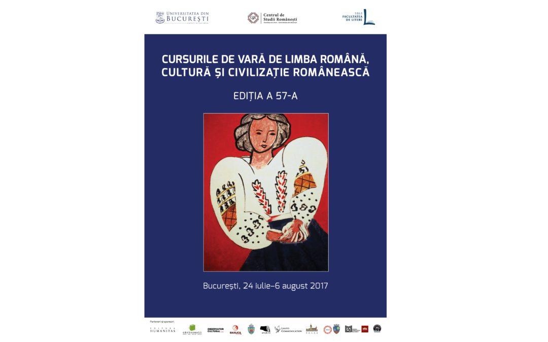 Studenții străini  învață limba română la Universitatea din București în cadrul Școlii de vară