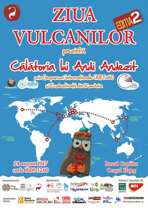 Ziua Vulcanilor, celebrată în cadrul Geoparcului Dinozaurilor Țara Hațegului