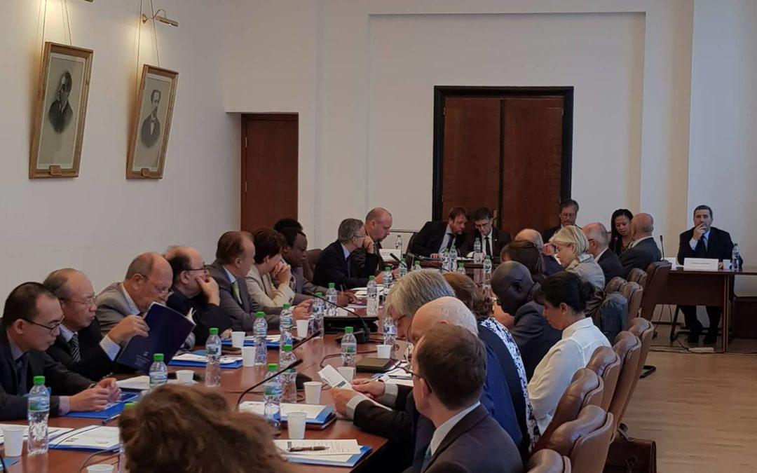 Reuniunea anuală a Rețelei Internaționale a Catedrelor Senghor pentru Francofonie la Universitatea din București