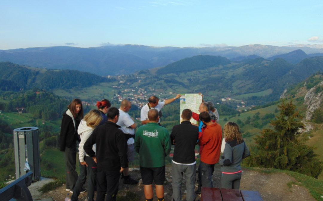Masteranzi în geografie ai Universității din Lausanne, în aplicație practică în Carpații Meridionali