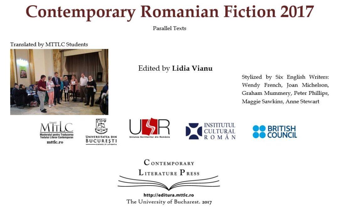 """Volumul """"Proză contemporană românească 2017"""", tradus de studenții Universității din București"""
