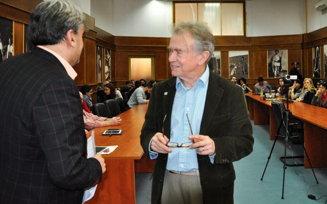 "Interviu cu prof. univ. dr.  Martin Albrow, publicat în revista ""Global Dialogue"""