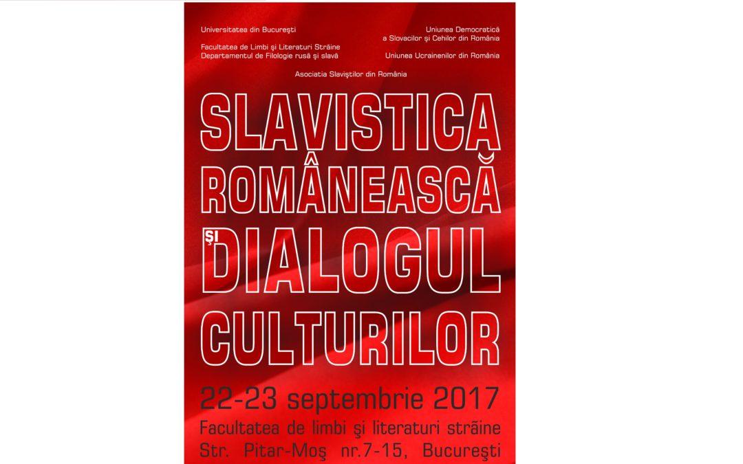 """Profesori și cercetători științifici de renume, reuniți la conferința internațională """"Slavistica românească și dialogul culturilor – 2017"""""""