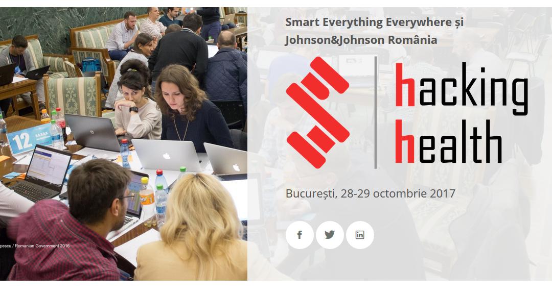 """""""Hacking Health"""", maraton pentru dezvoltarea de servicii de sănătate inteligente"""