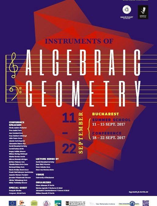"""Matematicieni și muzicieni renumiți discută în cadrul Școlii de vară """"Instruments of Algebraic Geometry"""""""