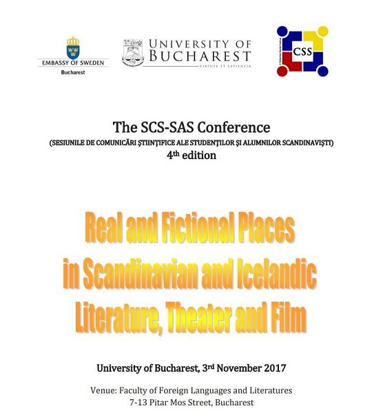 Cea de-a patra ediție a Sesiunii de Comunicări Științifice ale Studenților și Alumnilor Scandinaviști